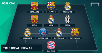 Time ideal FIFA 16 - PT-BR