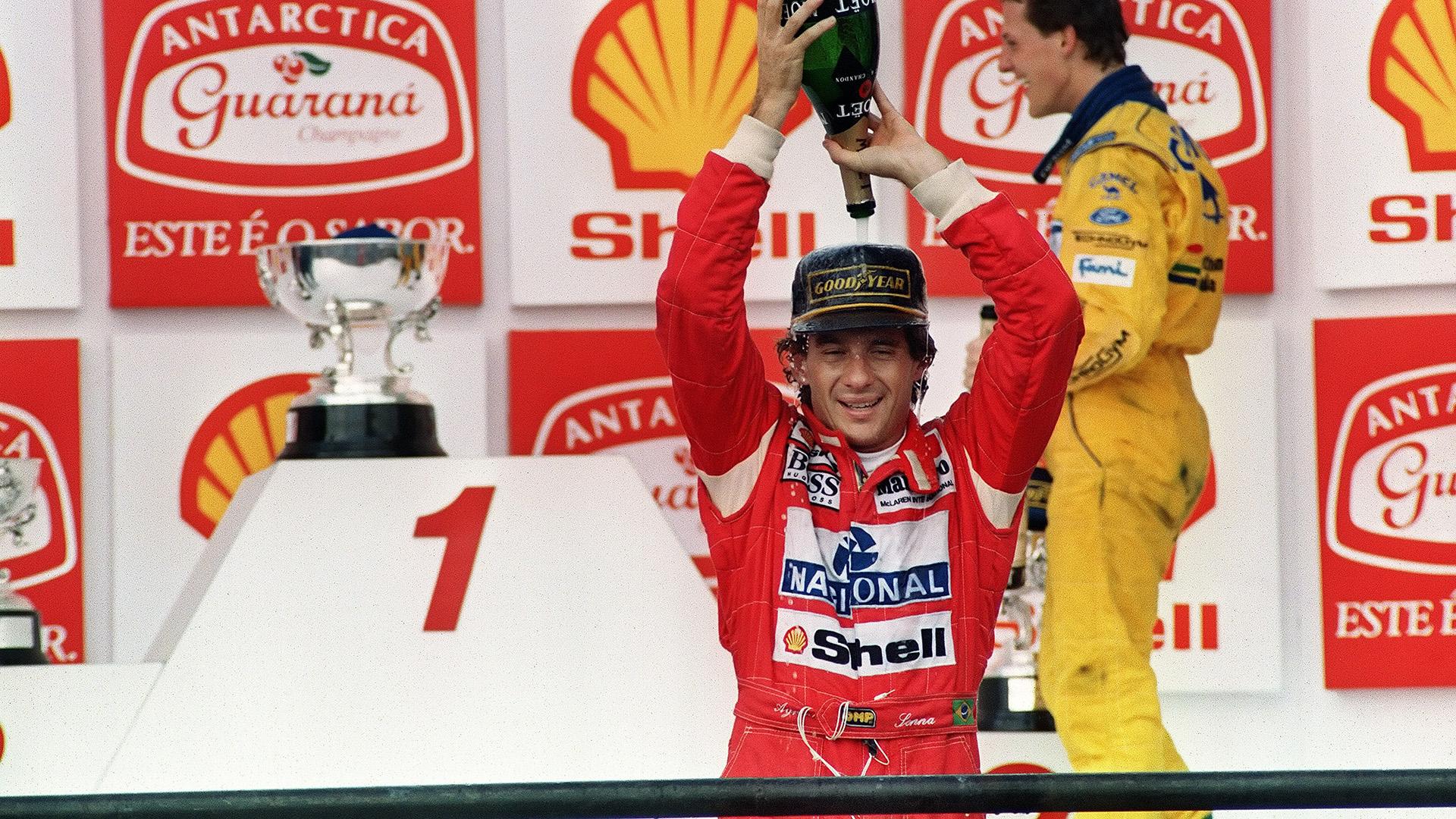Ayrton Senna Corinthians Football Formula One