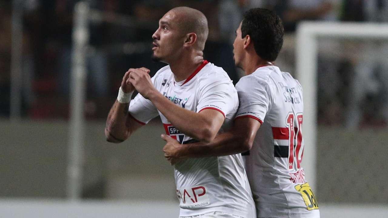 Maicon Roque Ganso Atlético-MG São Paulo Volta Copa Libertadores QF 18052016