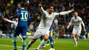 Cristiano Ronaldo Real Madrid Wolfsburg 12042016