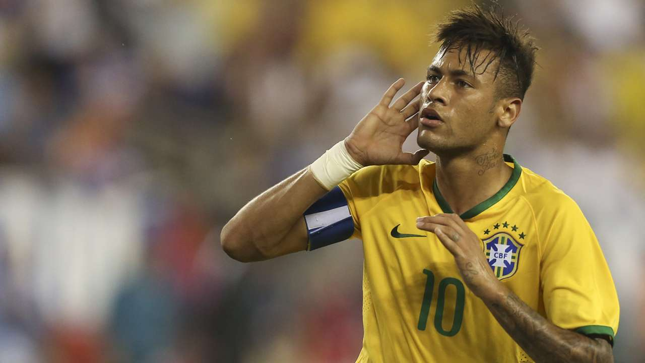 Neymar USA Brazil Friendly 08092015