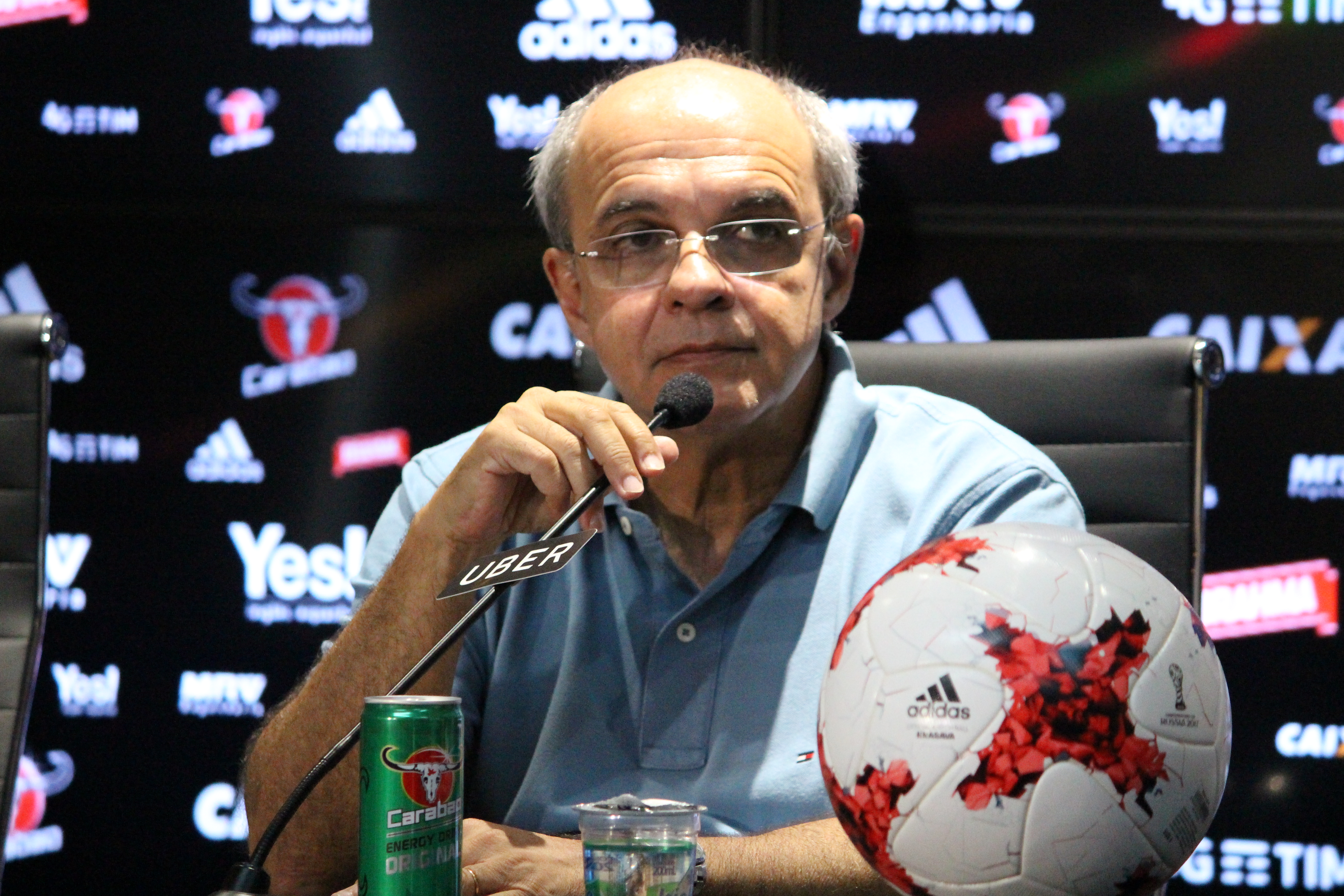 Eduardo Bandeira de Mello Flamengo 2017