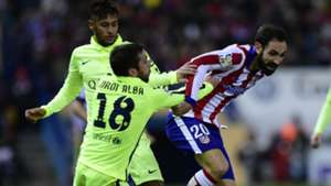 Neymar Juanfran Atlético de Madrid e Barcelona 01 02 2017