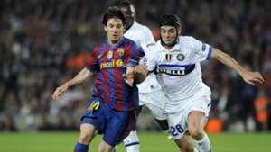Messi Barcelona Inter Milan Champions League 28042010