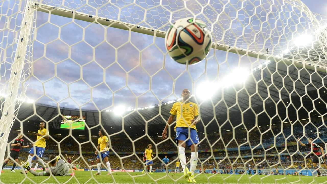 GALLERY ONLY Brazil x Germany World Cup 2014