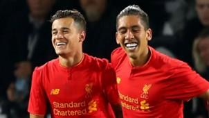 Firmino Coutinho Liverpool 08 10 2016