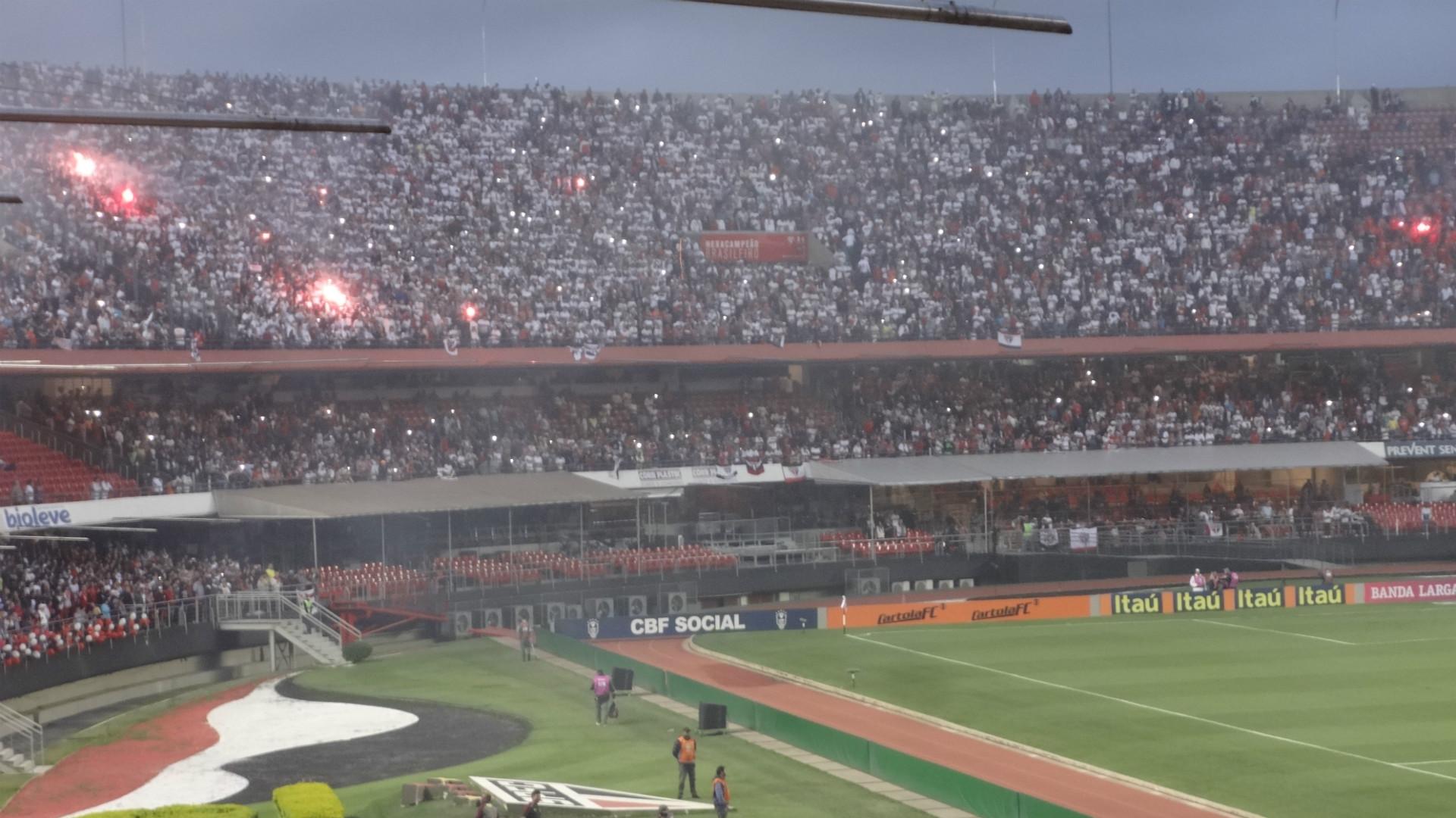 Torcida São Paulo - Morumbi - 5/11/2016