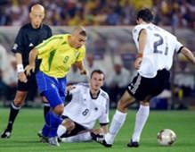 Brasil 2 x 0 Alemanha 2002