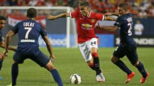 Andreas Pereira Marco Verratti Lucas Manchester United PSG