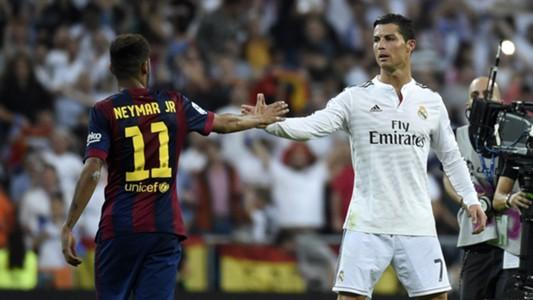 Neymar, Cristiano Ronaldo   Real Madrid 3-1 Barcelona   La Liga   Santiago Bernabéu   25102014