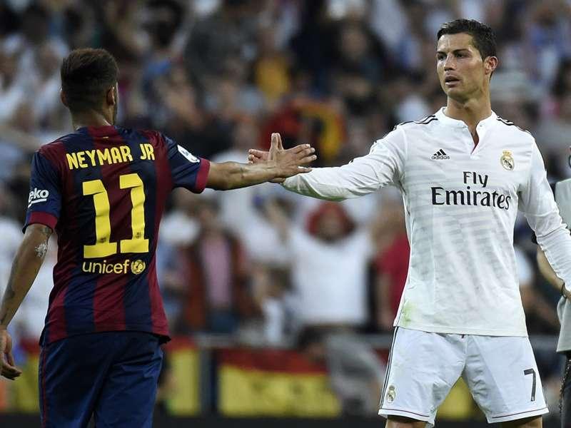 """Neymar se diz fã de Cristiano Ronaldo: """"Seria muito bom se jogasse no Barcelona"""""""