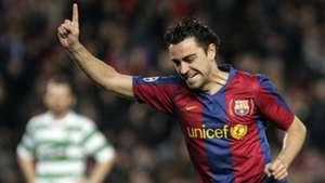 Xavi Barcelona Celtic Uefa Champions League 2008