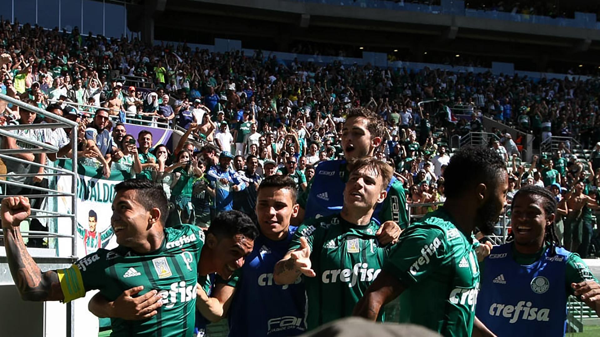 Allianz Parque Torcida Palmeiras Vitoria Brasileirao Serie A 16072017