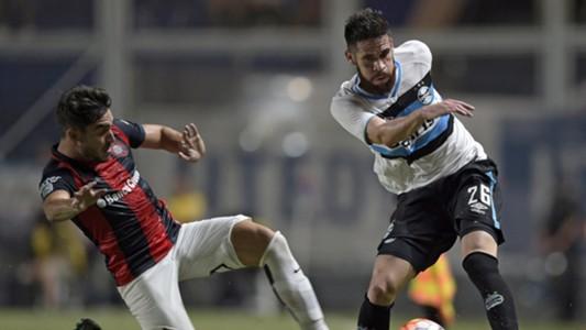 Maicon Ezequiel Cerutti San Lorenzo Grêmio Libertadores 03152016