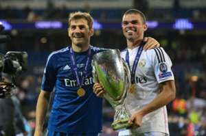 Casillas and Pepe - Real Madrid