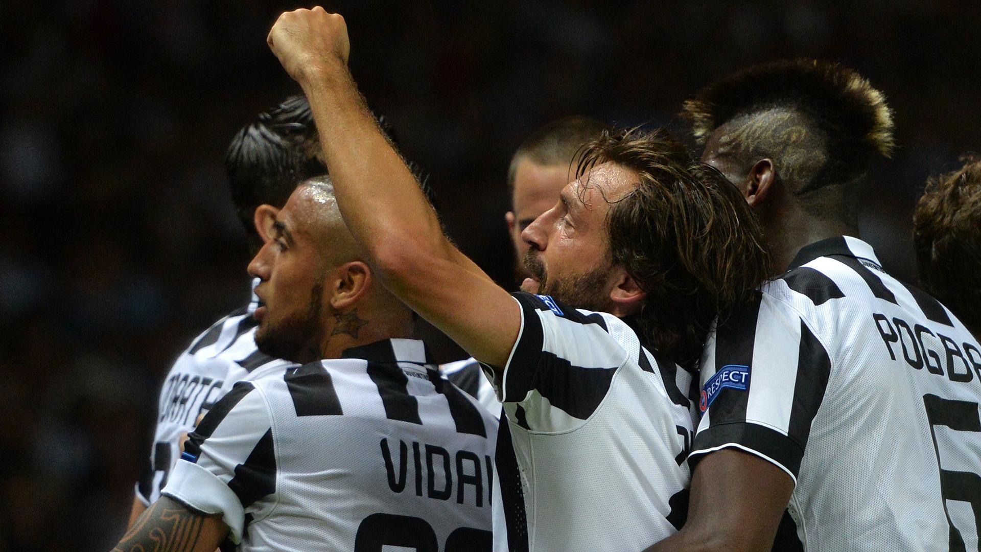 Pirlo Vidal Pogba Juventus Champions League final 06062015