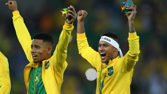 Gabriel Jesus e Neymar - Brasil x Alemanha 2008