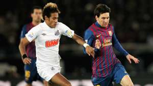 Messi Neymar Barcelona Santos final 2011 25 10 2016