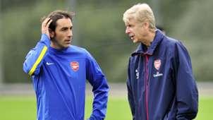 Robert Pires, Arsene Wenger | Arsenal