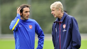 Robert Pires, Arsene Wenger | Arsenal