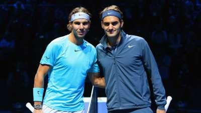 Roger Federer Rafael Nadal tennis stars 10112013