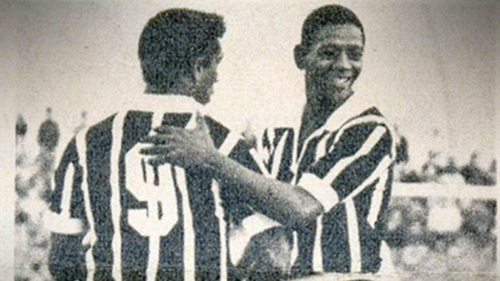 Paulo Borges e Flávio - Corinthians 1968