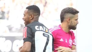 Atlético-MG x Flamengo 29 10 2016 Robinho Diego