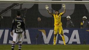 Cássio - Corinthians x Vasco - Libertadores 2012