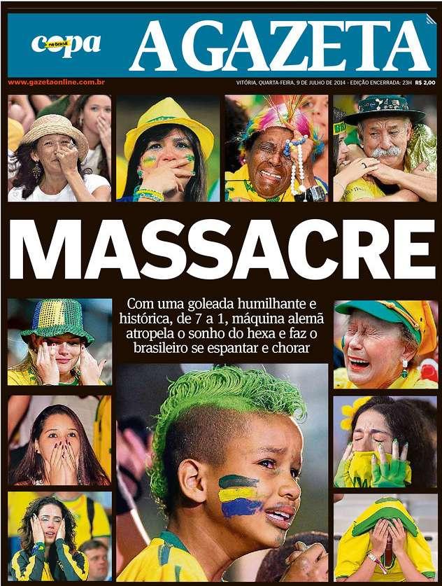 Capas 7 a 1 A Gazeta Vitória ES