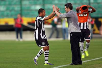 Cleyton e Argel Fucks - Figueirense vs Sport - Brasileirão 030814