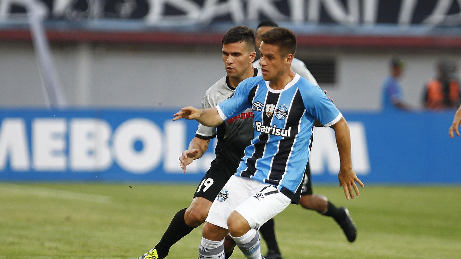 Ramiro Zamora Gremio Copa Libertadores 09032017