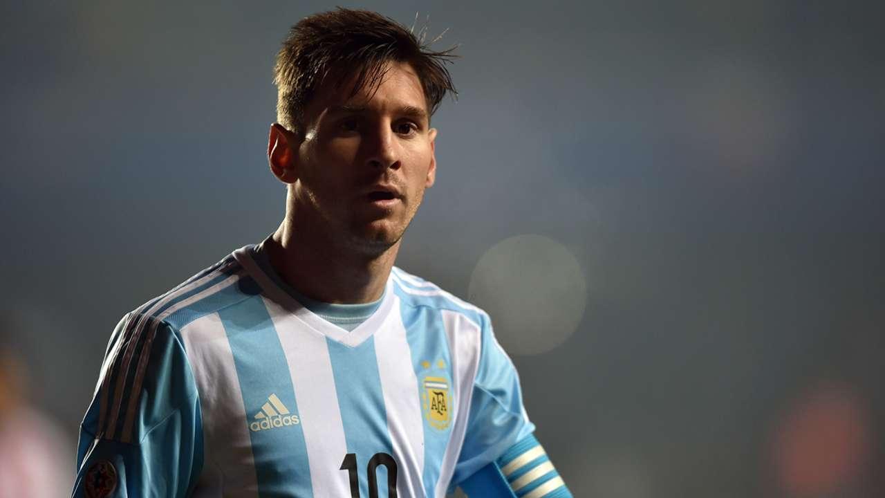 Lionel Messi Argentina Paraguay Copa America 30062015