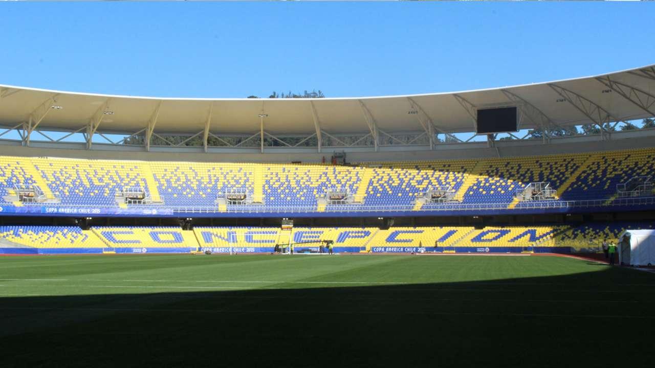 Estádio Concepción Chile Copa América 27 06 15