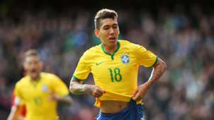 Roberto Firmino Brazil Chile Intl Friendly 29032015