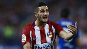 Koke Atlético de Madrid 04 10 2016