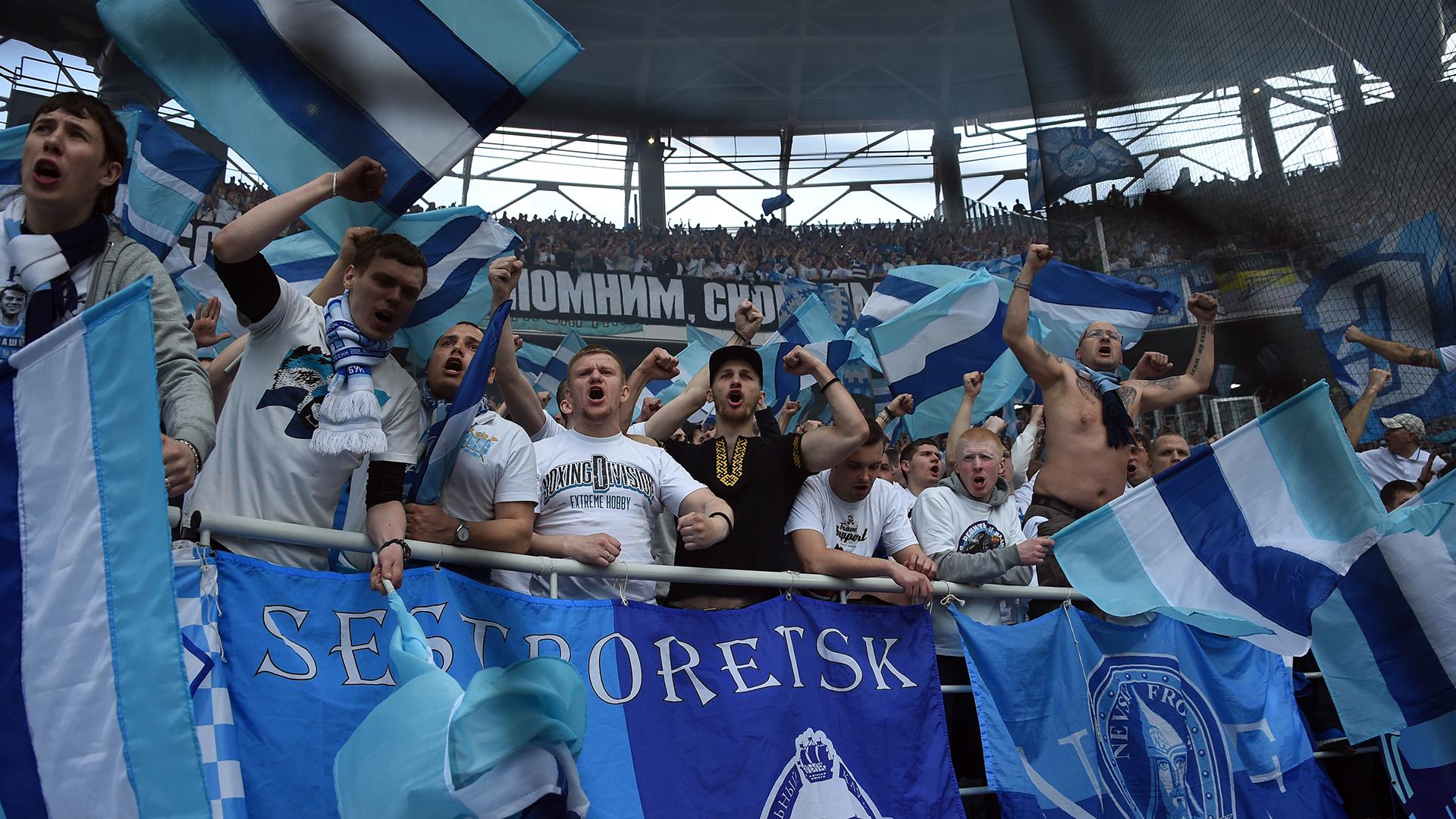 Zenit fans Russian Premier League 02052015