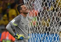 Julio Cesar Brazil Germany 2014 World Cup 07082014