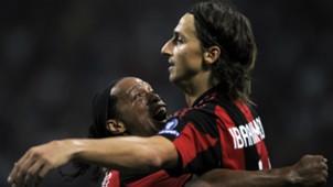 Ronaldinho Gaúcho, Zlatan Ibrahimovic | Milan