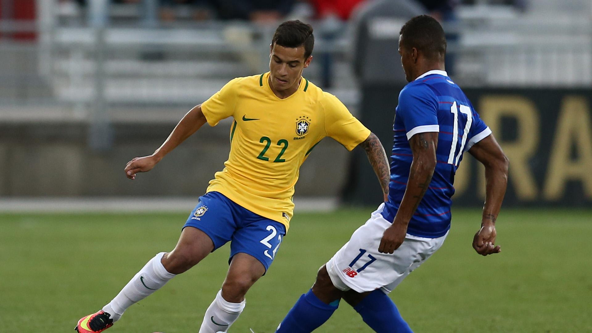 Philippe Coutinho Panama Brazil Friendly 29052016