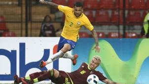 Daniel Alves Brasil x Venezuela Eliminatórias 11 10 16