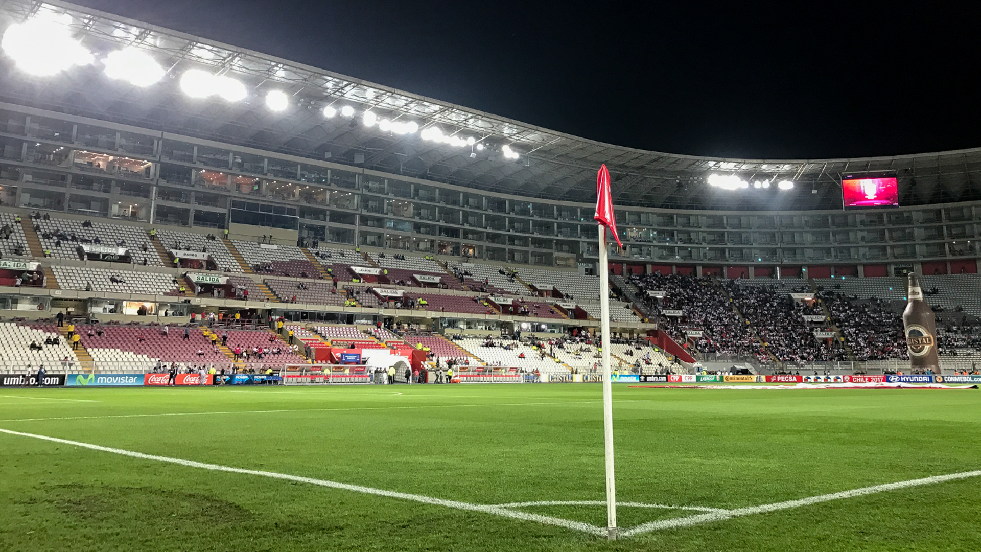 Estadio Nacional Lima Peru Brasil Eliminatorias 2018 16112016