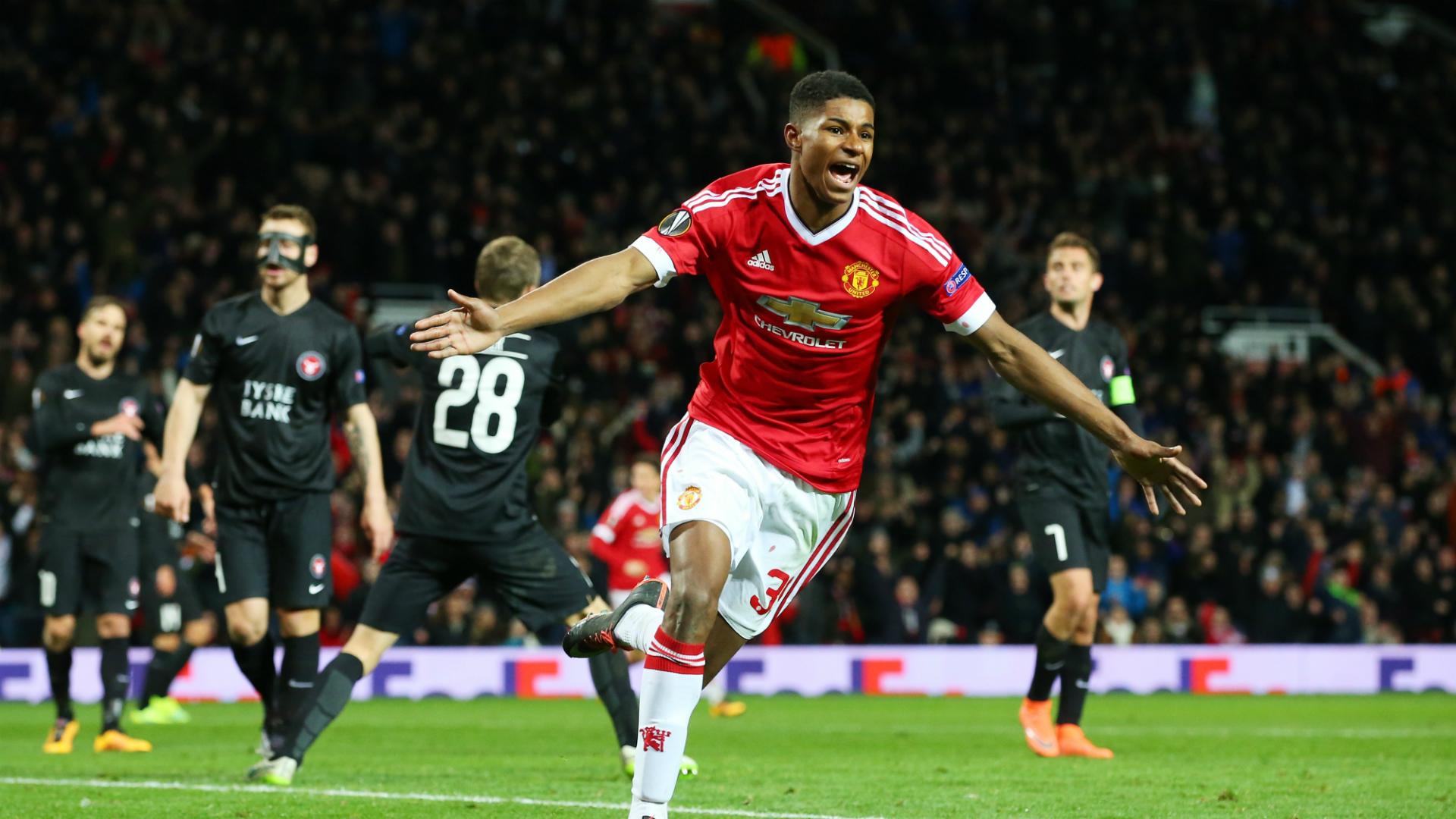 Marcus Rashford | Manchester United x Midtjylland | UEFA Europa League 2015/2016 | 25/02/2016