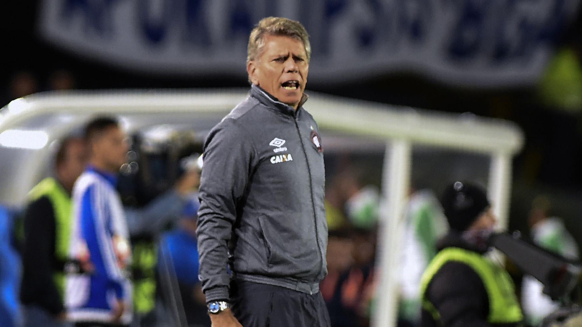 Paulo Autuori Millonarios Atlético-PR Copa Libertadores 08022017