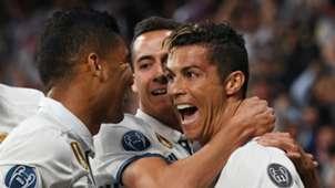 Cristiano Ronaldo Casemiro Real Madrid Bayern Munich UCL 18042017