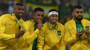 Neymar e cia ouro - Brasil x Alemanha 2008
