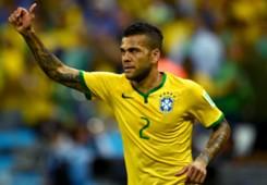 Daniel Alves Brazil Croatia 2014 World Cup Group A 06122014