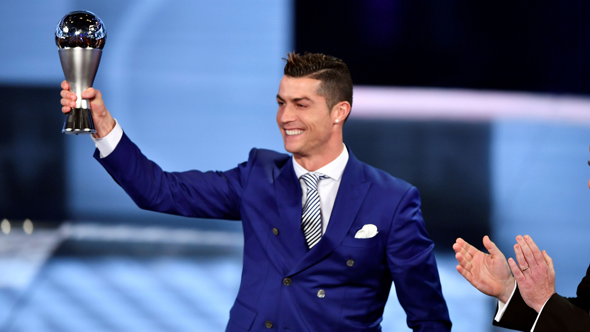 Cristiano Ronaldo 2017 FIFA The Best Awards 09012017