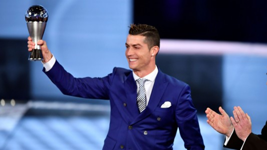 Cristiano Ronaldo 2017 FIFA The Best Awards 09012017
