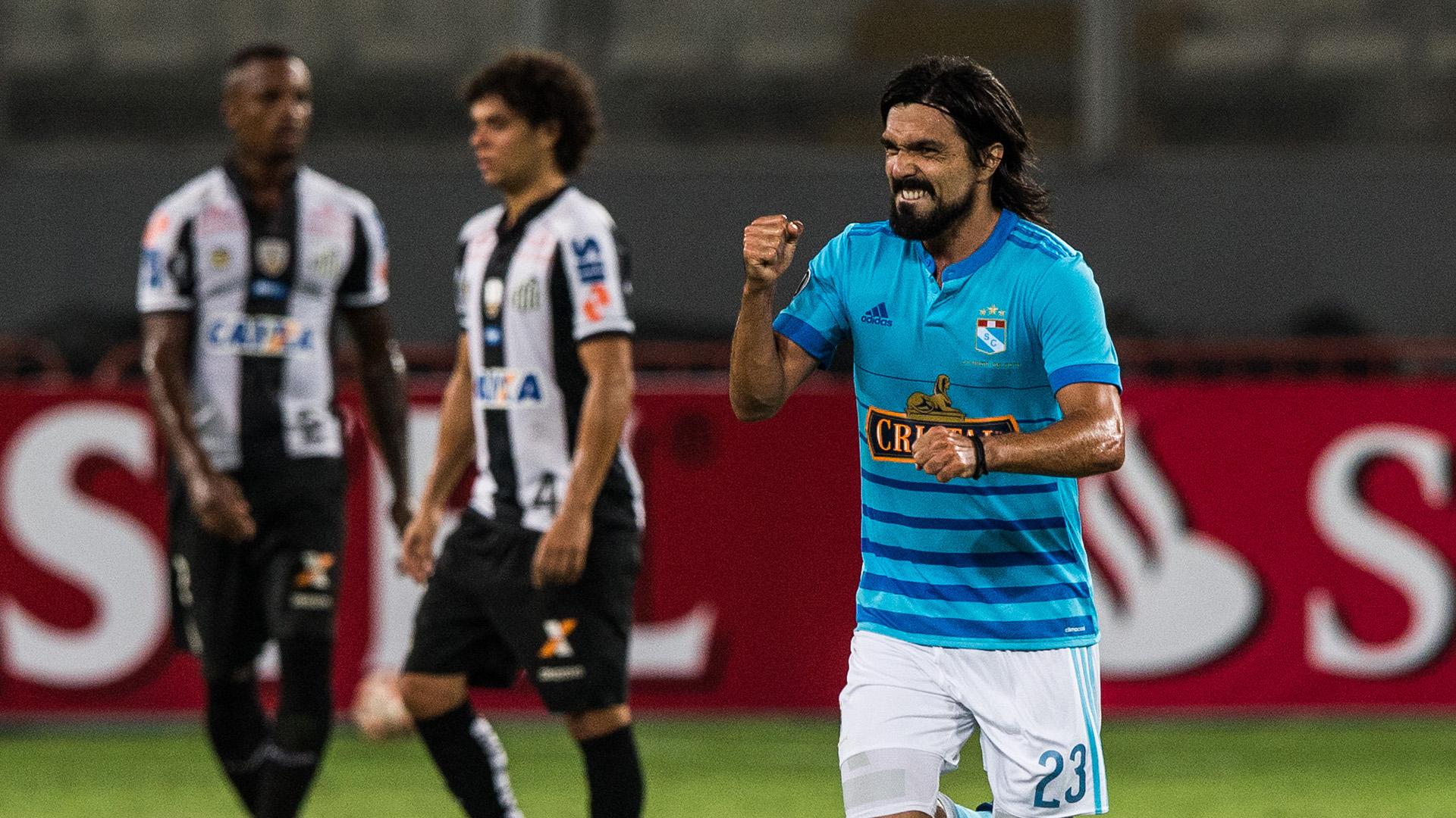 Jorge Cazulo Sporting Cristal Santos Copa Libertadores 09032017