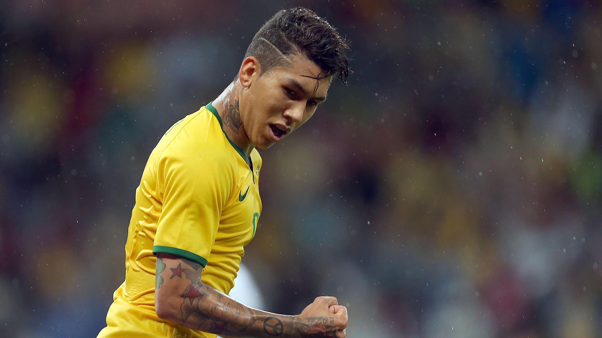 Roberto Firmino Brazil Honduras International Friendly 10062015